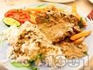 Рецепта Софрито - традиционно критско ястие с телешки стекове и сос от бяло вино